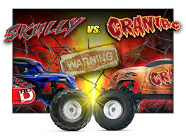 traxxas monster jam trucks skully and craniac 2wd monster trucks