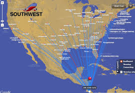 swa route map southwest airlines announces low fares routes to costa rica