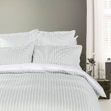 Duvet Covers Grey And White Buy Tommy Hilfiger Sateen Stripe Duvet Cover Grey Amara