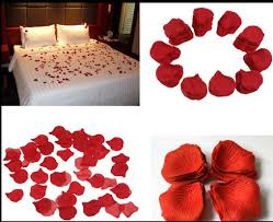 silk petals wholesale 500pcs petals silk flowers table