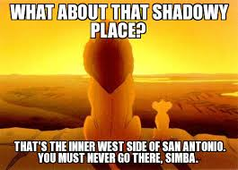 San Antonio Memes - mufasa and simba meme what about that shadowy place that s the