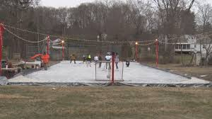 backyard ice rink provides hours of activity hudson valley news