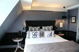 chambre blanc et noir chambre blanche et noir photo avec deco chambre plaques