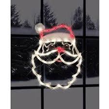 impact innovations christmas lighted window decoration impact innovations christmas lighted window decoration santa face