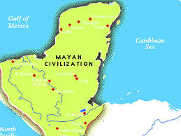 Mayan Empire Map The Mayans By Joei Chandler