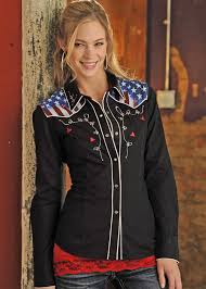 panhandle slim women u0027s american dream companion shirt