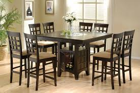 gorgeous square dining tables for 8 on pc square counter height