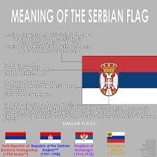 Confederate Flag With Eagle Meaning Meaning Of The Serbian Flag Vexillology