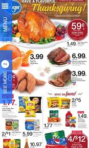 kroger thanksgiving ad 11 15 23 kroger coupon