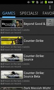 steam to android steam for android unofficial steam mobile client with an ics like ui