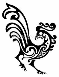 ornamental rooster coqs roosters rooster