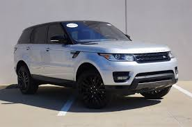 new and used land rover range rover sport for sale in dallas tx