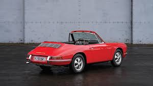 porsche classic convertible the first porsche 911 cabriolet is up for auction