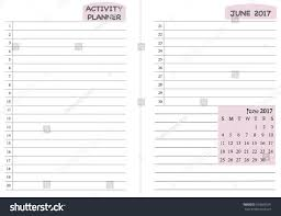 monthly day planner template june 2017 calendar template monthly planner stock vector 503686591 june 2017 calendar template monthly planner template with daily routine check list activity schedule chart