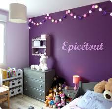 deco fille chambre deco bebe fille chambre violet enfant id es originales idee pas