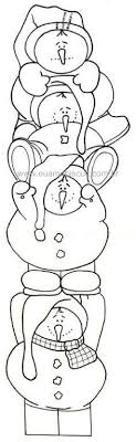 coloring page snowman family snowman family coloring pages google search stencils pinterest