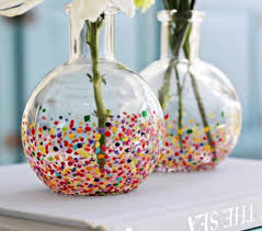 Diy Vases Easy Diy Confetti Vases The Diy Adventures