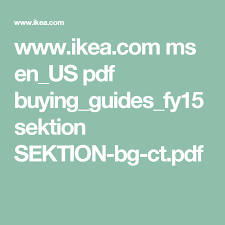 ikea cuisine pdf ikea com ms en us pdf buying guides fy15 sektion sektion bg ct