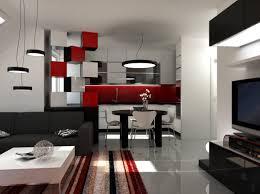 Wohnzimmerverbau Modern Wohnzimmer Wohnzimmer Schwarz Weiß Plan Auf Rot Weis Ocaccept Com