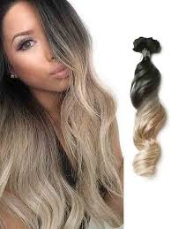 ombre extensions black to wave ombre hair extension 1 jpg