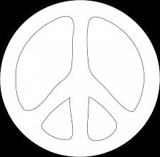 peace sign clipart black and white clipart panda free clipart