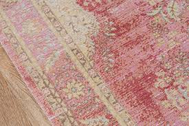 soft pink shabby chic rug woodwaves
