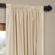 amazon com half drapes ptch jtsp130907 108 faux silk