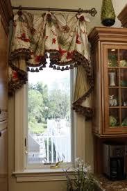 Black Valances Kitchen Valances For Kitchen With Gratifying Blue Curtain