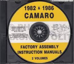 1982 camaro owner u0027s manual reprint berlinetta sport coupe z 28
