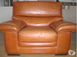 canapé cuir d occasion salon de cuir en buffle lille 59000 meubles pas cher d