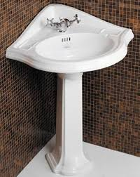 Corner Sinks Bathroom Easy To Follow Pedestal Sink Installation Guide Designforlife U0027s