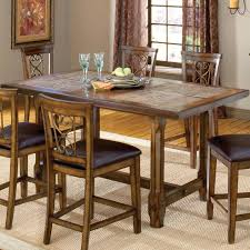 high gloss dining room table end tables sets glass top height