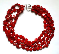 coral necklace red images Red coral necklace the beautorialist jpg