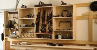 Wood Shelving Plans Garage by Extreme Garage Shop Makeover U2013 Part 2 Woodworking Adventures