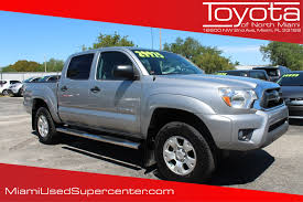jeep truck prerunner pre owned 2014 toyota tacoma prerunner crew cab pickup in miami