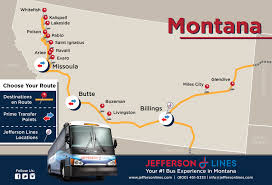 Oklahoma Travel Buses images Jefferson lines bus stops in montana jpg