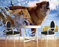 compare prices on wolf wallpaper online shopping buy low price beibehang custom wallpaper wolf totem wolf culture snowy mural background wall living room bedroom tv background