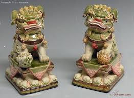 fu dog statues colour glazed feng shui foo dog ceramic statue sam
