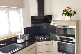 cuisson cuisine réalisations cuisine avec cuisson en angle de cuisines avec socoo c