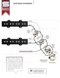 diagram seymourduncan jazzbass standard dimarzio bass guitar