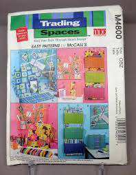 tlc trading spaces mccall u0027s 4800 trading spaces tlc diy home office accessories
