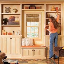 How To Build Your Own Bookshelf Built In Bookcase And Cabinet Plans Roselawnlutheran Inside Built