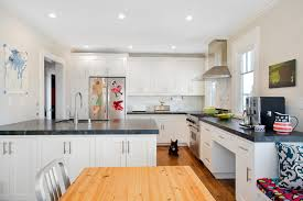 Impressive Verde San Francisco Granite In Kitchen Traditional With - Kitchen cabinets san francisco