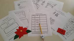 unit study winter holidays around the world build your library