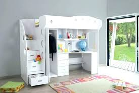 lit enfant mezzanine bureau lit mezzanine combine lit mezzanine combinac bureau combine lit