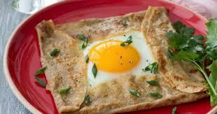 cuisine franc comtoise recette galettes de sarrasin à la franc comtoise