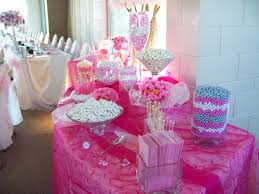 pink baby shower 31 baby shower candy table decoration ideas table decorating ideas