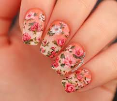 nail art tutorial realistic hand painted flowers nail it