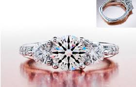 engagement ring ideas side stones engagement ring designs and ideas new trends