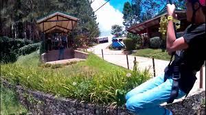 zipline 320 meters plus 150 meters at dahilayan adventure park